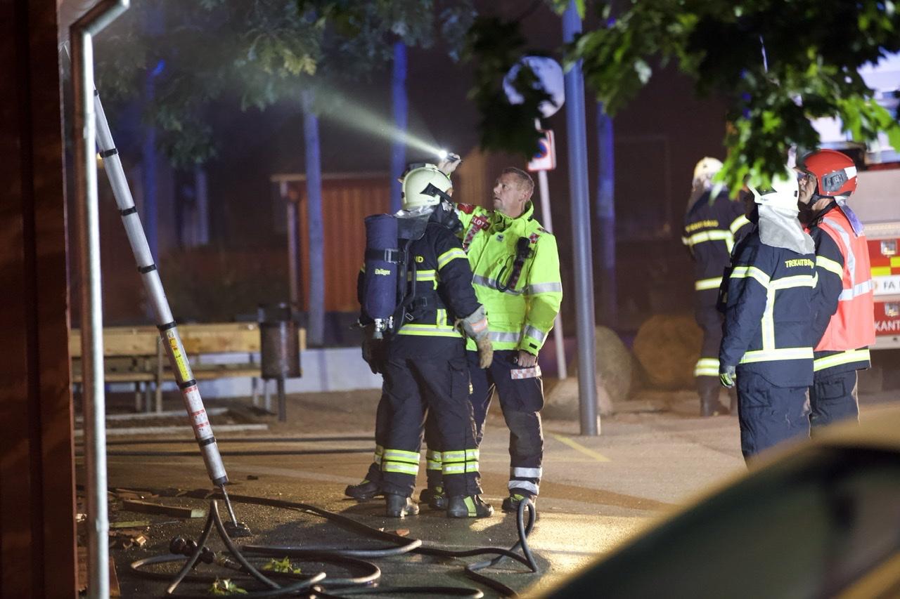 Brand i Fredericia mistænkes påsat