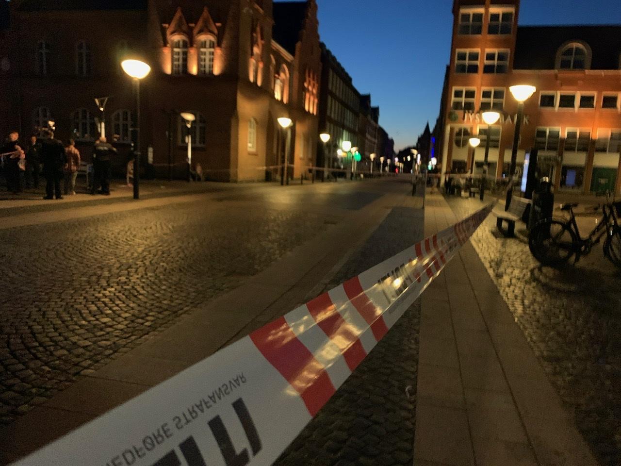 Knivstikkeri i Esbjerg natten til søndag
