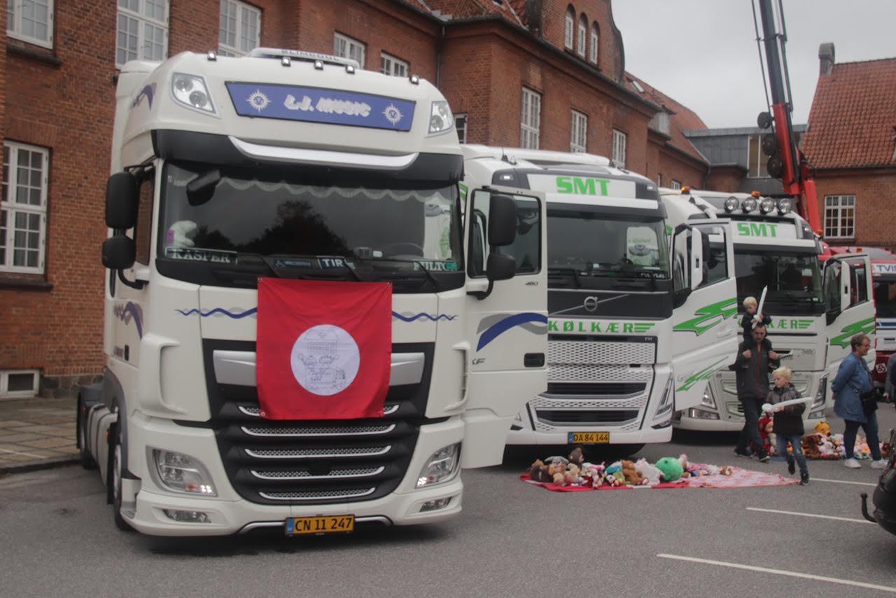 Lastbiler for børn - giver børn en oplevelse væk fra hospitalet