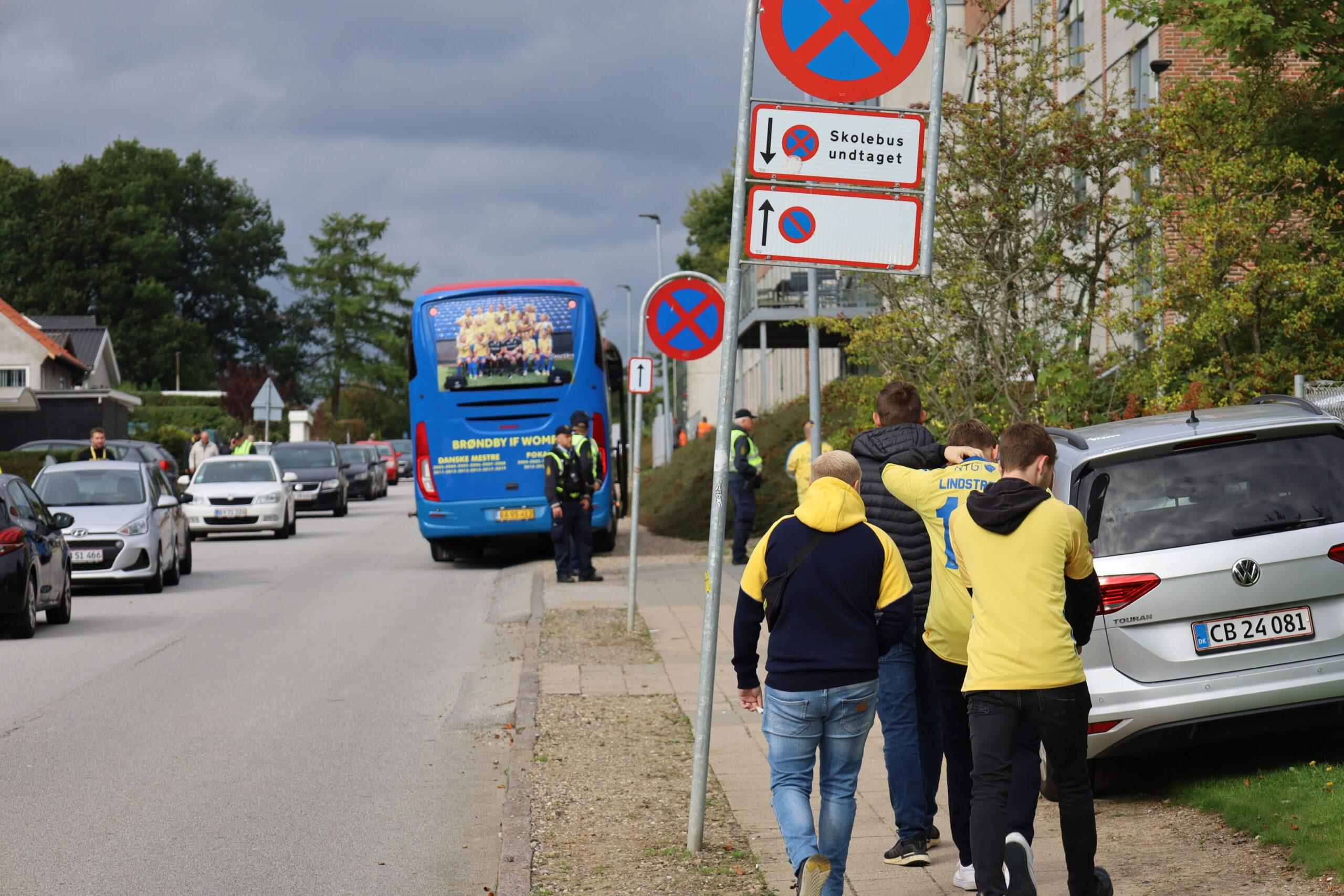 Politiet gøre klar til kamp mellem Sønderjyske og Brøndby