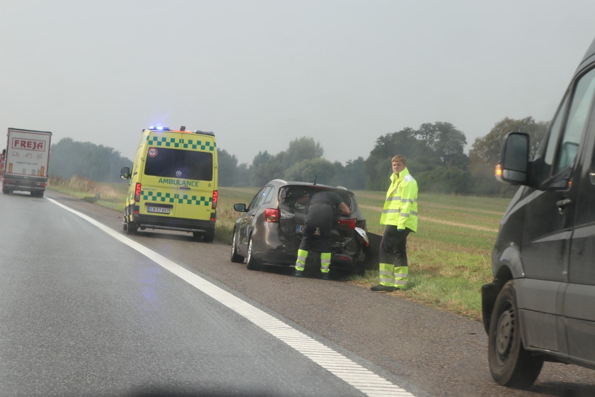 Færdselsuheld mellem Nyborg og Langeskov