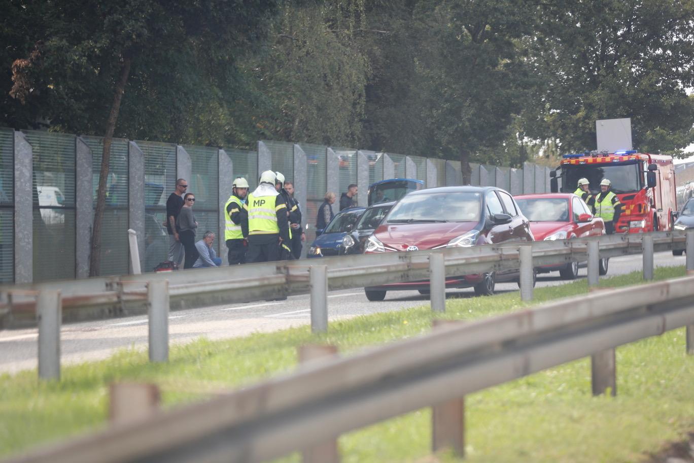 Tre køretøjer i uheld på Ballerup Boulevard