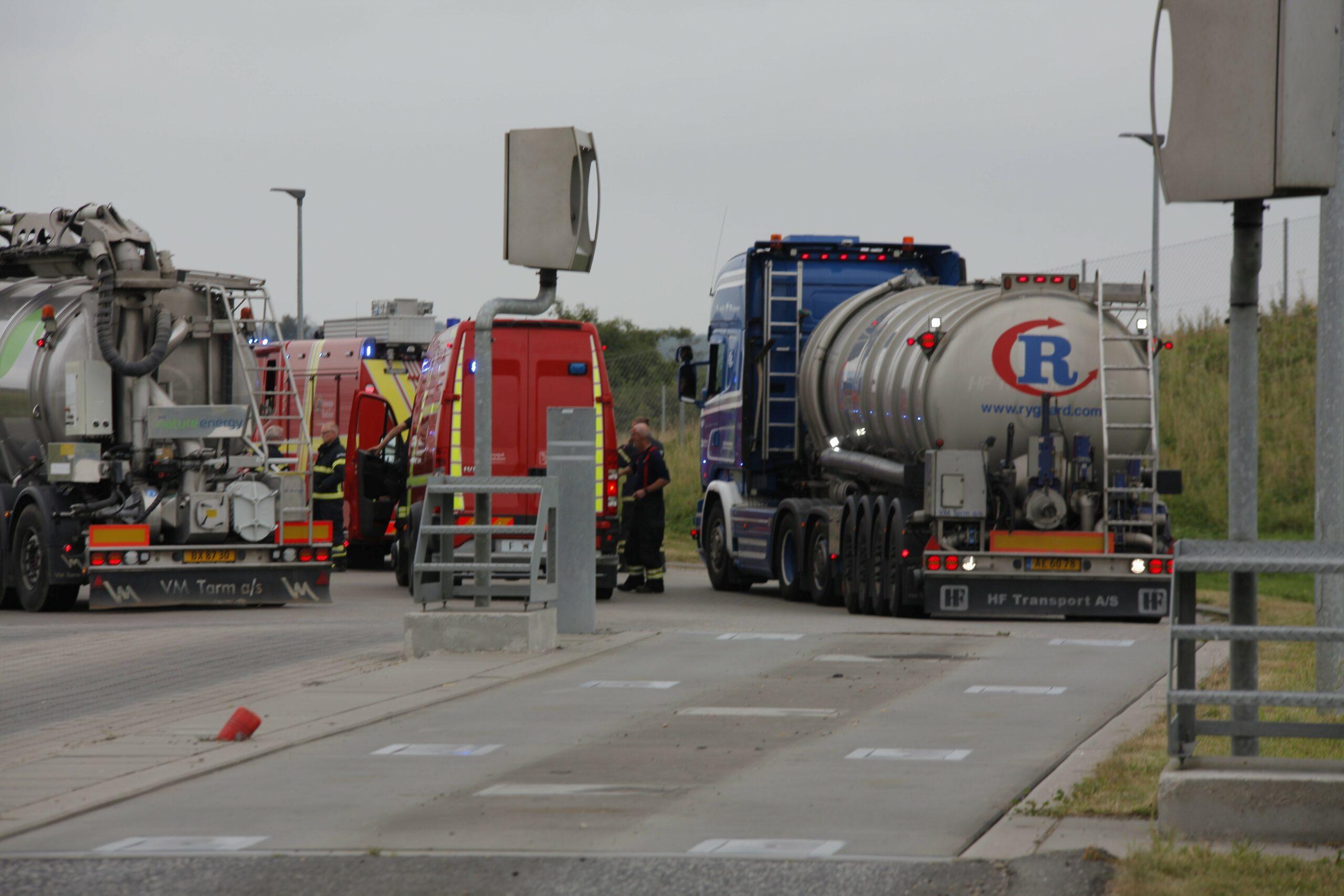 Lige nu: Melding om større forurening ved Esbjerg - Brandvæsnet er tilstede og afventer melding fra stedet