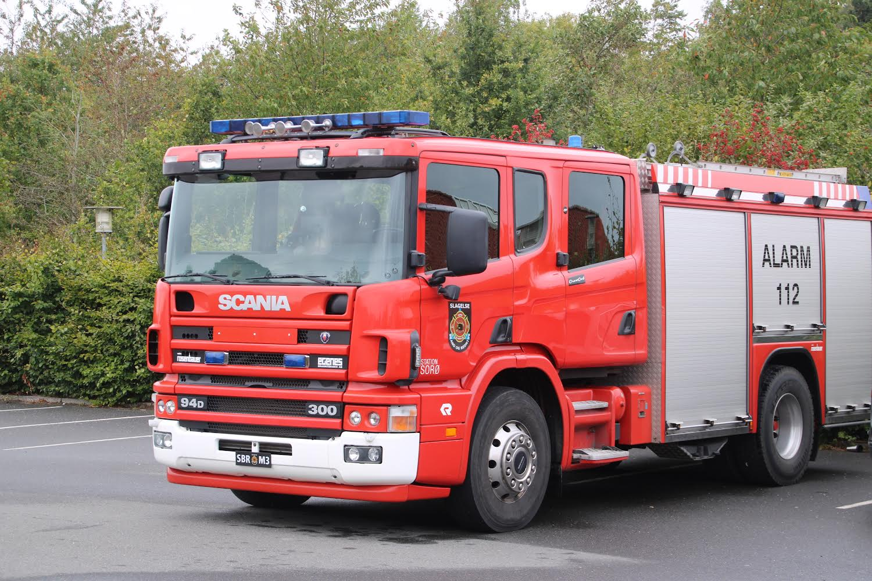 Brandvæsnet til stede ved børnehave  i Sorø