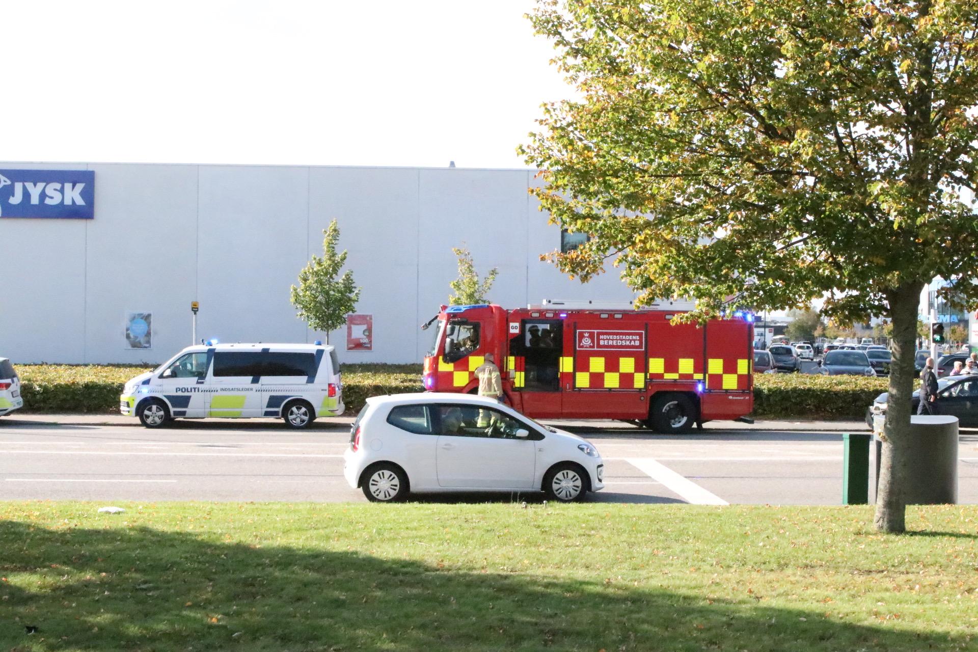 Mindre færdselsuheld i Glostrup